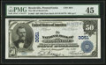 National Bank Notes:Pennsylvania, Brookville, PA - $50 1902 Date Back Fr. 667 The NB of BrookvilleCh. # 3051. ...