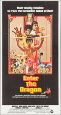 "Movie Posters:Action, Enter the Dragon (Warner Brothers, 1973). International Three Sheet (41"" X 76.75""). Action.. ..."
