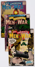Silver Age (1956-1969):War, All-American Men of War Group of 5 (DC, 1957-66).... (Total: 5 Comic Books)