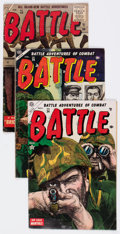 Golden Age (1938-1955):War, Battle Group of 18 (Marvel, 1952-59) Condition: Average GD.... (Total: 18 Comic Books)