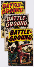 Golden Age (1938-1955):War, Battle Ground Group of 16 (Atlas, 1954-57) Condition: AverageGD+.... (Total: 16 Comic Books)