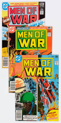 Bronze Age (1970-1979):War, Men of War Group of 19 (DC, 1977-80) Condition: Average VF/NM.... (Total: 19 Comic Books)