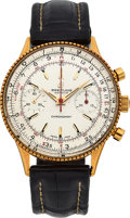 Timepieces:Wristwatch, Breitling Ref. 808 18k Gold Chronomat Wristwatch. ...