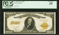 Large Size:Gold Certificates, Fr. 1220 $1,000 1922 Gold Certificate PCGS Very Fine 30.. ...