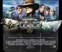 "The League of Extraordinary Gentlemen & Other Lot (20th Century Fox, 2003). Promotional Standees (14"" X 69""..."