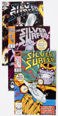 Modern Age (1980-Present):Superhero, Silver Surfer Group of 51 (Marvel, 1982-91) Condition: AverageVF/NM.... (Total: 51 Comic Books)