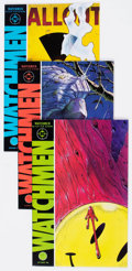 Modern Age (1980-Present):Superhero, Watchmen #1-12 Group (DC, 1986-87) Condition: Average VF/NM....(Total: 12 Comic Books)