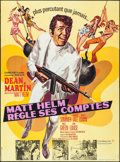 "Movie Posters:Action, The Wrecking Crew (Columbia, 1969). French Grande (45.5"" X 62"").Action.. ..."