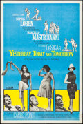 "Movie Posters:Foreign, Yesterday, Today and Tomorrow (Embassy, 1964). Poster (40"" X 60""). Foreign.. ..."
