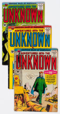 Silver Age (1956-1969):Horror, Adventures Into The Unknown Group of 43 (ACG, 1958-67) Condition:Average VG.... (Total: 43 Comic Books)