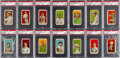 "Baseball Cards:Sets, 1915 E106 American Caramel Near Set (40/48) - The Majority of the#2 ""All-Time Finest"" PSA Set Registry. ..."