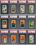 Baseball Cards:Lots, 1909-11 T206 El Principe De Gales PSA-Graded Collection (12). ...