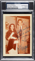 Miscellaneous Collectibles:General, Circa 1960 Natalie Wood & Robert Wagner Signed Photograph. ...