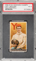 "Football Cards:Singles (Pre-1950), 1888 N162 Goodwin ""Champions"" Henry Beecher PSA VG 3 - The FirstFootball Card. ..."