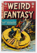 Golden Age (1938-1955):Science Fiction, Weird Fantasy #18 (EC, 1953) Condition: FN....