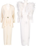 Music Memorabilia:Costumes, A Connie Francis Pair of Evening Gowns Worn Onstage , 1990s-2000s.... (Total: 2 )