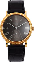 Timepieces:Wristwatch, Patek Philippe Very Fine Ref. 3919J-016 Gent's Gold Wristwatch. ...
