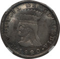 Colombia:Cundinamarca, Colombia: Cundinamarca. Republic 8 Reales 1820-JF XF Details(Polished) NGC,...