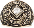 Baseball Collectibles:Others, 1961 New York Yankees World Series Championship Replacement RingPresented to Moose Skowron....