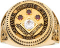 Baseball Collectibles:Others, 1987 St. Louis Cardinals National League Championship Ring. ...