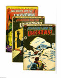 Golden Age (1938-1955):Horror, Adventures Into the Unknown Group (ACG, 1950-52) Condition: AverageGD+. Eight-issue group includes #9, 11, 12, 17, 19, 24, ... (Total:8 Comic Books)