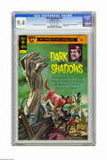 Bronze Age (1970-1979):Horror, Dark Shadows #23 File Copy (Gold Key, 1973) CGC NM 9.4 Off-whitepages. Kenner 16-page fun catalog included. Painted cover. ...