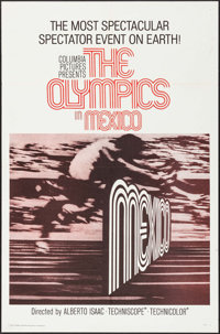 """The Olympics in Mexico (Columbia, 1969). One Sheet (27"""" X 41""""). Sports"""