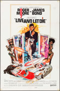 "Movie Posters:James Bond, Live and Let Die (United Artists, 1973). International One Sheet(27"" X 41""). James Bond.. ..."