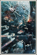 "Movie Posters:Science Fiction, Star Wars (20th Century Fox, 1977). Soundtrack Poster (22"" X 33"").Science Fiction.. ..."