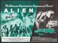 "Movie Posters:Science Fiction, Alien/The Fog Combo (20th Century Fox, R-1980). British Quad (30"" X40""). Science Fiction.. ..."