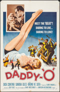 "Movie Posters:Exploitation, Daddy-""O"" (American International, 1959). One Sheet (27"" X 41""). Exploitation.. ..."