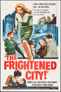 """The Frightened City (Allied Artists, 1962). One Sheet (27"""" X 41"""") & Lobby Card Set of 8 (11 X 14""""..."""