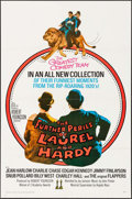 """Movie Posters:Comedy, The Further Perils of Laurel and Hardy (20th Century Fox, 1967). One Sheet (27"""" X 41"""") & Lobby Card Set of 8 (11"""" X 14""""). Co... (Total: 9 Items)"""