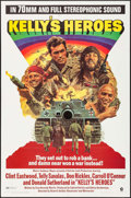 """Movie Posters:War, Kelly's Heroes (MGM, 1970). One Sheet (27"""" X 41"""") 70mm RoadshowStyle. War.. ..."""