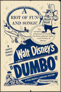"""Movie Posters:Animation, Dumbo & Other Lot (Buena Vista, R-1950). One Sheets (2) (26.75"""" x 40.75"""" &27"""" X 41""""). Animation.. ... (Total: 2 Items)"""