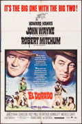 "Movie Posters:Western, El Dorado (Paramount, 1966). One Sheet (27"" X 41""). Western.. ..."