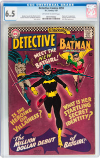 Detective Comics #359 (DC, 1967) CGC FN+ 6.5 Off-white to white pages