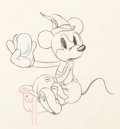 Animation Art:Production Drawing, Alpine Climbers Mickey Mouse Animation Drawing (Walt Disney,1936)....