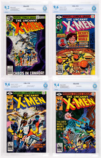 X-Men CBCS-Graded Group of 4 (Marvel, 1979).... (Total: 4 Comic Books)