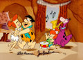 "Animation Art:Limited Edition Cel, The Flintstones ""Jam Session"" Limited Edition Cel Artist'sProof AP#4/20 (Hanna-Barbera, 1989)...."