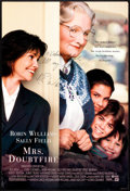 """Memorabilia:Poster, Mrs. Doubtfire Movie Poster signed by Robin Williams (20thCentury Fox, 1993). One Sheet (27"""" X 40"""")...."""
