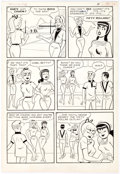 Original Comic Art:Panel Pages, Pep Comics #178 Story Page 4 Original Art (Archie, 1965)....