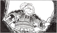 "Stan Sakai Teenage Mutant Ninja Turtles ""Yojimbo"" Animation Illustration Usagi Yojimbo Original Art Group of 3..."