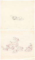 Animation Art:Production Drawing, Little Hiawatha Animation Drawings and Good Housekeeping Press Proofs Group of 3 (Walt Disney, 1937). ... (Total: 3 Items)