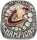 Basketball Collectibles:Others, 2016 Cleveland Cavaliers NBA Championship Staff Ring....