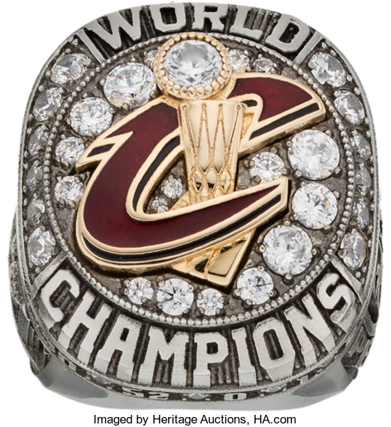 d25e10ff4fa 2016 Cleveland Cavaliers NBA Championship Staff Ring.... Basketball ...