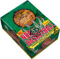 Basketball Cards:Unopened Packs/Display Boxes, 1987 Fleer Basketball Wax Box With 36 Unopened Packs....