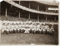 Baseball Collectibles:Photos, 1912 New York Giants Original News Photograph, PSA/DNA Type 1. ...
