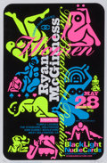 Fine Art - Work on Paper:Print, Ryan McGinness (b. 1972). Women: The Blacklight Paintings,(three works), 2011. Screenprints with black flocking and flu...(Total: 3 Items)