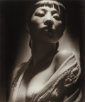 Photographs, George Hurrell (American, 1904-1992). Anna May Wong, 1938. Gelatin silver, printed later. 23-1/4 x 19-1/4 inches (59.1 x...